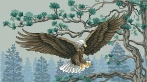 Схема Величественный орел / Majestic Eagle