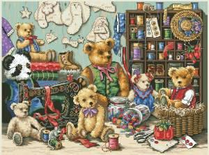 Схема Мишки-игрушки