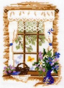 Схема Сезонные окна. Лето