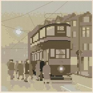 Схема Серия миниатюр. Трамвай