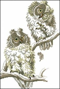 Схема Две совы
