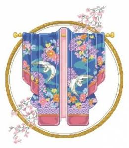 Схема Эксклюзивное кимоно