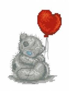 Схема Мишка Тедди. С любовью