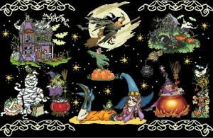 Схема Сэмлер Хеллоуин