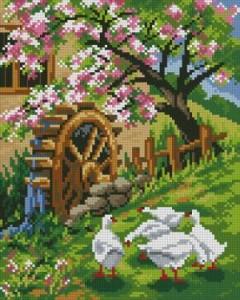 Схема Мельница и гуси