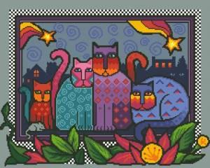 Схема Мир кошек