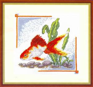 Схема Золотая рыбка