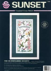 Схема Щебечащее общество / The Hummingbird Society