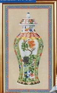 Схема Японская ваза