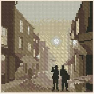 Схема Серия миниатюр. Улица