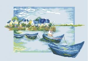 Схема Голубые лодки