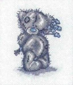 Схема Мишки Тедди. Специально для тебя