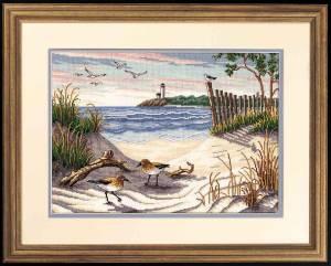 Схема Чайки на песке