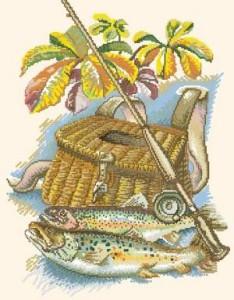 Схема Трофей рыбака