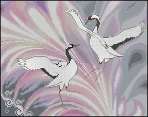 Схема Танец двух журавлей