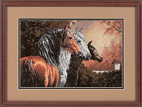 Схема Трио коней