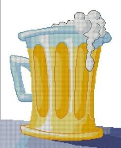 Схема Кружка пива