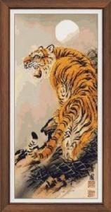 Схема Тигр вид сзади