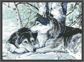 Схема Родственные души волки / Devoted Soulmates