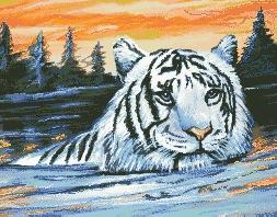 Схема Тигр на закате