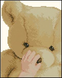 Схема Мишка Тедди