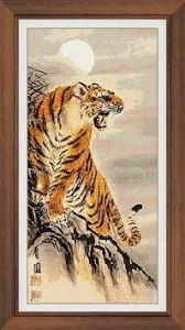 Схема Тигр вид спереди