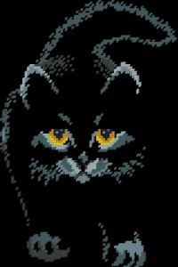 Схема Черный, черный кот