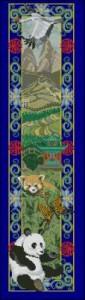 Схема Животные Китая (панель)