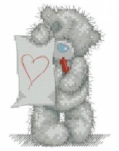 Схема Сердце для тебя