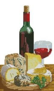 Схема Вино и сыры