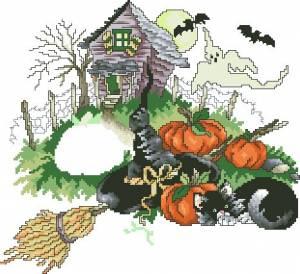Схема Дом с привидениями