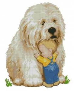 Схема Малыш и пес