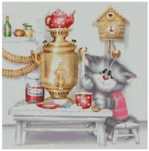 Схема Вкусный чай из самовара — А.