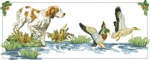 Схема Охотничья собака