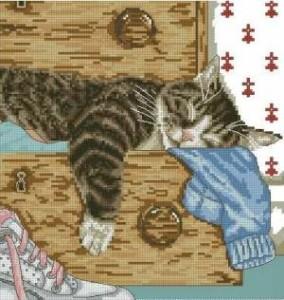 Схема Спящий кот