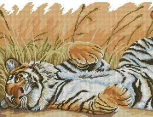 Схема Тигр отдыхает