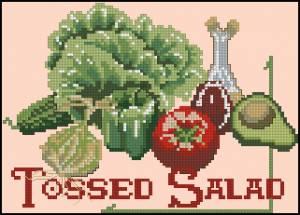 Схема Овощное ассорти