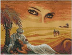 Схема Мираж-глаза пустыни