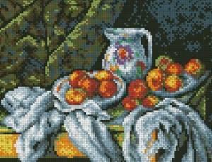 Схема Натюрморт с персиками