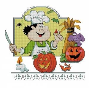 Схема Хеллоуин. Поварята