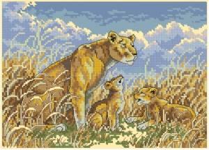 Схема Лев и новички / Lion&Cubs