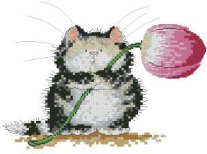 Схема Кошак с цветком