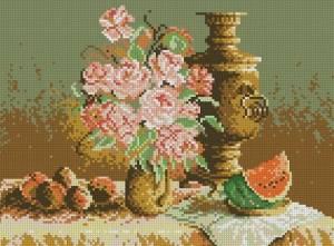 Схема Натюрморт с арбузом