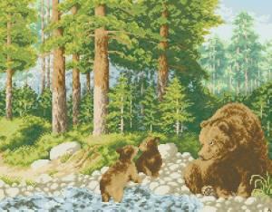 Схема Медведи на прогулке