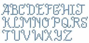 Схема Алфавит сдержанный