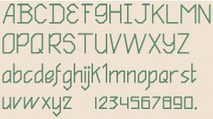 Схема Алфавит