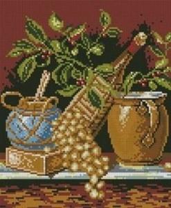 Схема Кисть винограда