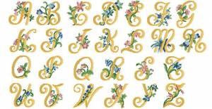 Схема Алфавит с цветами