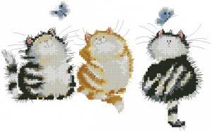 Схема Три котейки