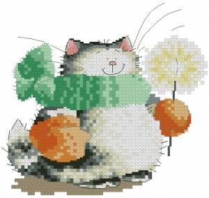 Схема Кошак в шарфе